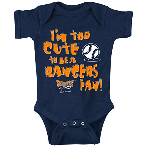 Smack Apparel Houston Astros Fans. Too Cute. Onesie (NB-18M) or Toddler Tee (2T-4T) (12 Month)