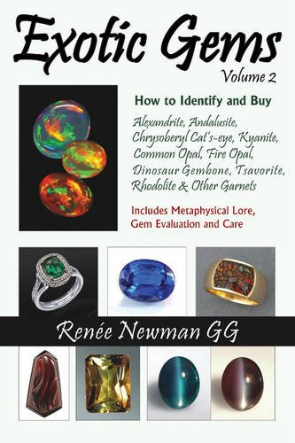 Kyanite Natural (Exotic Gems, Volume 2: How to Identify and Buy Alexandrite, Andalusite, Chrysoberyl Cat's-eye, Kyanite, Common Opal, Fire Opal, Dinosaur Gembone, Tsavorite, Rhodolite & Other Garnets)