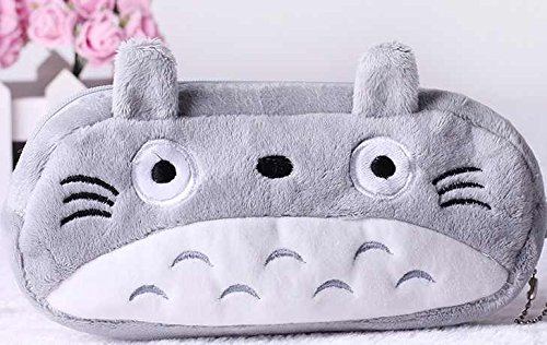 Totoro Cute Plush Pencilpen Bag Pouch