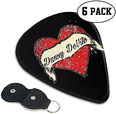 Danny Devito Arm Tattoo Púas de guitarra 6 PCS Mejores púas de ...