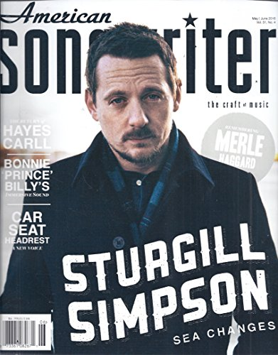 Songwriter Magazine - American Songwriter Magazine (May/June 2016 - Cover: Sturgill Simpson)