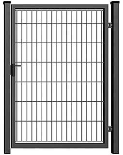 Solid Drehflugeltor Gartentor Tor H 1000 B 1000 Anthrazit Zaun
