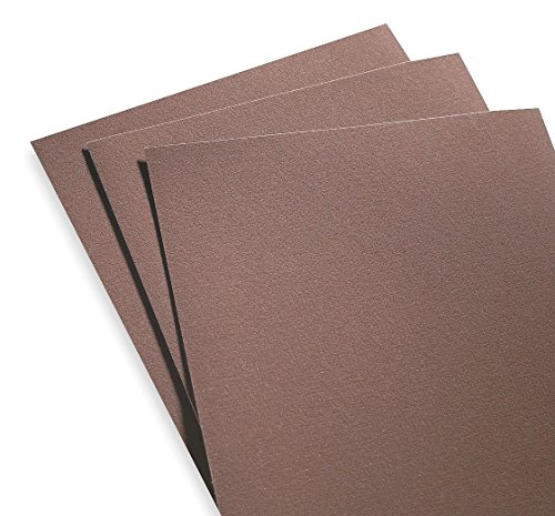 Norton 07660701308 Emery Fine Grit 9x11 K622 Sandpaper (Pack of 50)