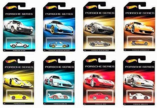 Hot Wheels Porsche Series: Models (01 - 08) (914-6, 918 Spyder, 959, 993 GT2, 917K, Boxter Spyder, Carrera GT, 935-78) 2015 Series