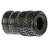 SunF A007 ATV / UTV Tires 23x7-10 Front & A006 22x10-10 Rear, Set of 4