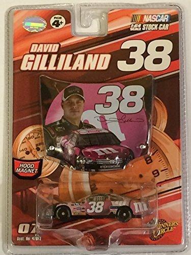 David Gilliland #38 MMs M&Ms Ford Pink Susan Komen Special Paint Scheme 2007 Edition 1/64 Car & Bonus Magnet Hood Winners Circle