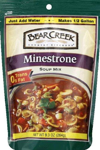 Basil Soup Mix - Bear Creek Soup Mix, Minestrone, 9.3 Ounces
