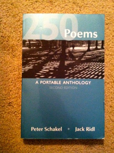 250 Poems: A Portable Anthology, 2nd Edition