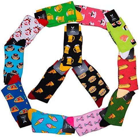 TwoSocks - lustige Socken Damen Herren witzige Strümpfe als Geschenk, Einheitsgröße