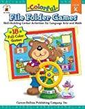 Colorful File Folder Games, Grade K: Skill-Building