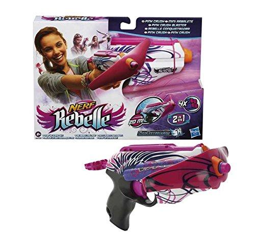Nerf - Arma de juguete modelo Rebelle Clique (Hasbro A4739E27) M28E60