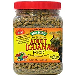 Zoo Med Natural Adult Iguana Food