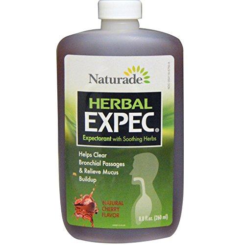 Naturade, Herbal Expec, Natural Cherry Flavor, 8.8 fl oz (260 ml) - 3PC