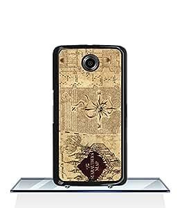 JenniferLi - Google Nexus 6 Funda Case Harry Potter Quotes Movie High Impact Protecive Extra Thin Custom Unique Pattern Funda Case Cover