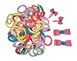 Ponytail Holders and Hair Bows for Girls
