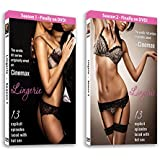 LINGERIE - The Cinemax Erotic Hit Series. Seasons 1 & 2: 26 Episodes on 4 DVDs laced with hot sex!