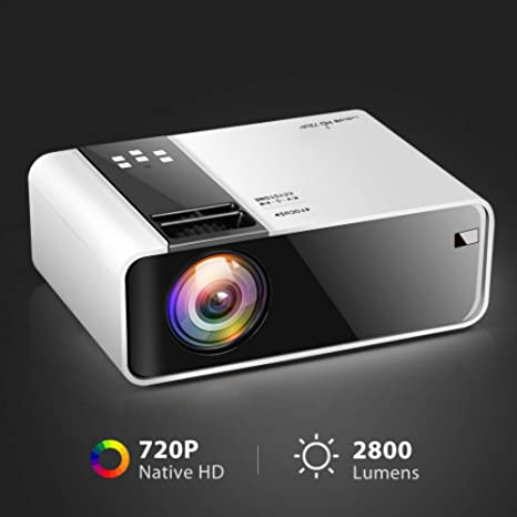 Amazon.com: HD Mini Projector TD90 Native 1280 x 720P LED ...