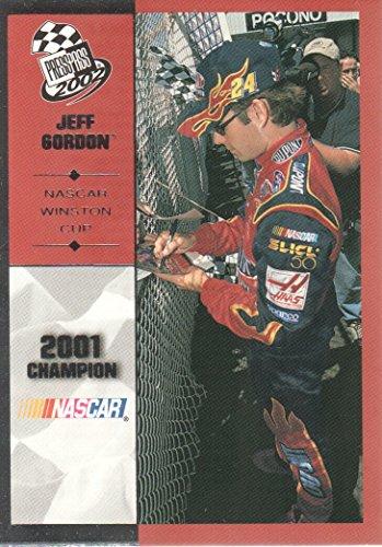 2002 Press Pass NASCAR Racing #99 Jeff Gordon Winston Cup Champion ()