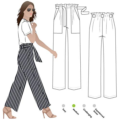 Style Arc Sewing Pattern - Thea Pant (Sizes 18-30) - Click for Other Sizes Available