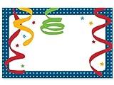 50 pack Birthday StreamersNo Sentiment Enclosure Cards (20 unit, 50 pack per unit.)