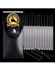 Pick Smeftelyy Set of Stainless Steel Tools 15 Pieces and Zippered Bag