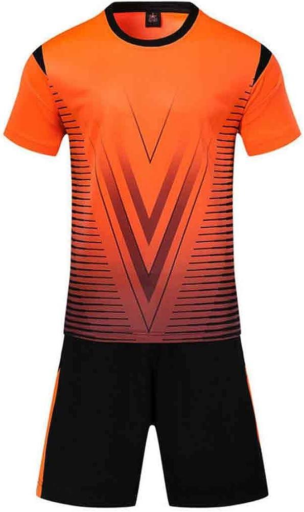Yefree Conjunto de Camisetas de fútbol para Adultos jóvenes ...