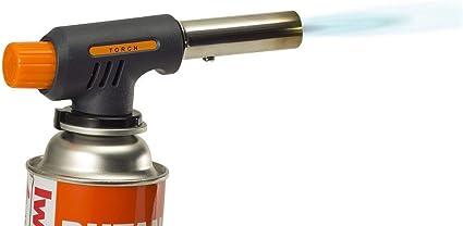 wealers Multi Propósito diseño compacto para Camping Soldadura soplete para barbacoa al aire libre (botella de gas no incluido.)
