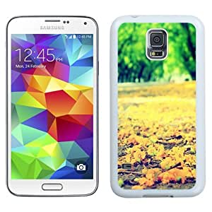 Small Yellow Autumn Flowers (2) Durable High Quality Samsung Galaxy S5 Case