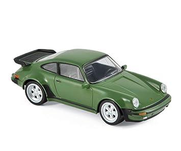 Norev NV750033 1 Maxijet 1:43 1978 Porsche 911 Turbo Modelo, Verde