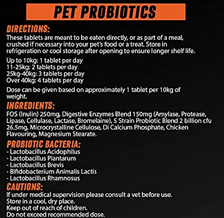 Pet Probiotics para Perros y Gatos | Suplemento probiótico ...
