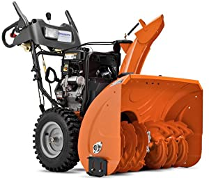 B0053WVMES_Husqvarna 1830HV 30-Inch 414cc SnowKing Gas Powered Two Stage Snow Thrower With Electric Start & Power Steering