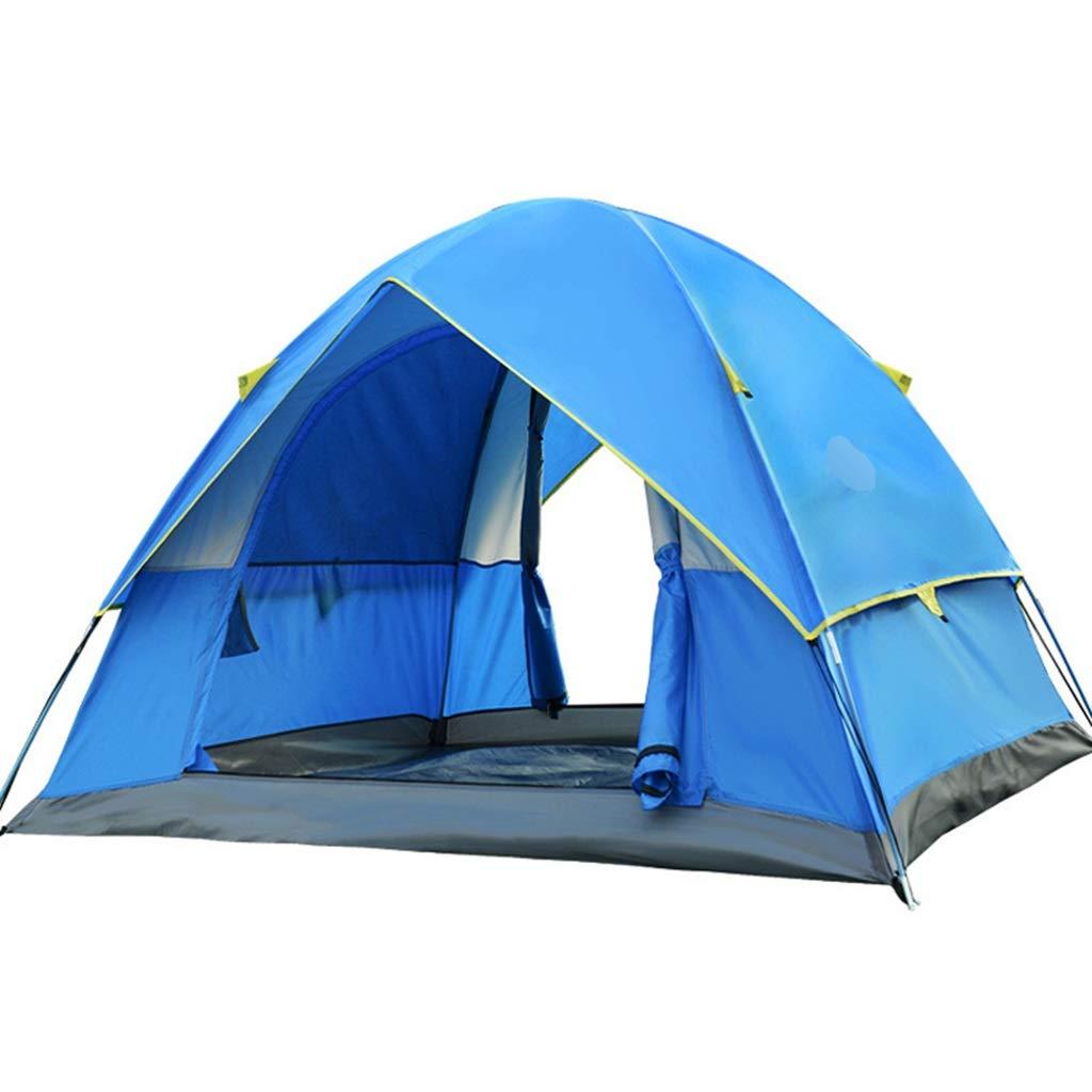 YaNanHome Festzeltzelt des Festzeltzeltes des Zeltes im Freien 1-2 Leute kampierendes Zelt, welches die Zeltpaarzelt-Doppelte Farbe optional wandert (Farbe : Blau, Größe : 210  150  115cm)