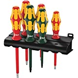 Wera Kraftform Plus 160i/168i/6 Insulated Professional Screwdriver Set, 6-Piece