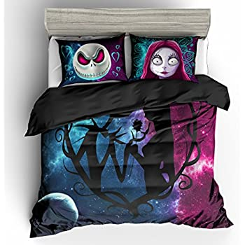 Incredible Cute Nightmare Before Christmas King Size Bedding For