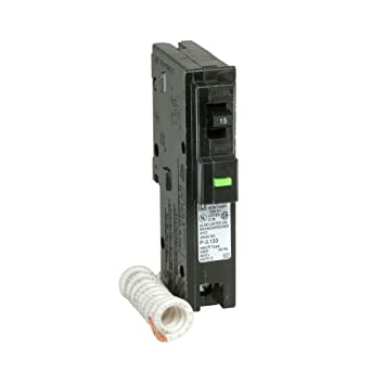 Square D hom115afic homeline 15 Amp Polo AFCI Circuit Breaker ...