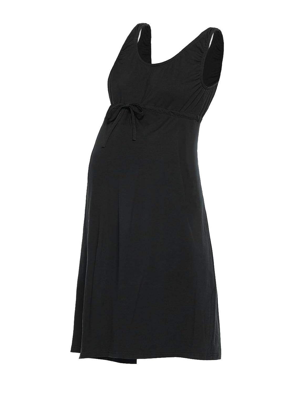 Motherhood Satin Trim Maternity Nightgown and Robe Set at Amazon ...
