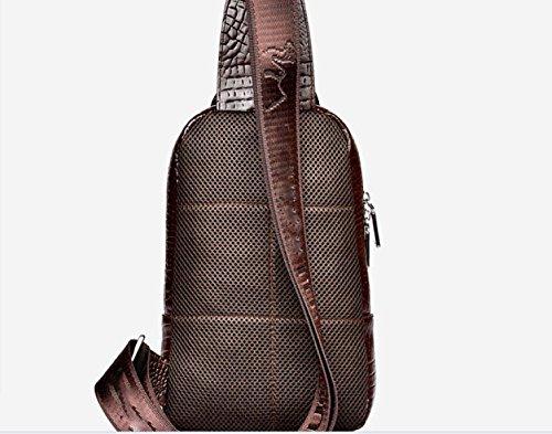 Skin Backpack Ultrafine Shoulder Business Casual Bag Travel purpose Blue Leisure Men Multi Laidaye Iqw4TSR