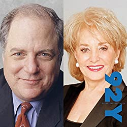 Frank Rich interviewed by Barbara Walters at the 92nd Street Y