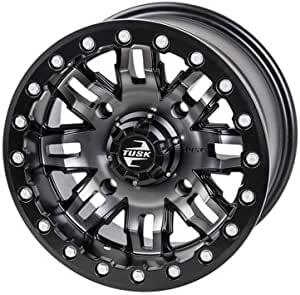 2.0 Matte Black for Can-Am Maverick X3 X MR Turbo 2018 4//137 Tusk Wasatch Beadlock Wheel 15x7 5.0
