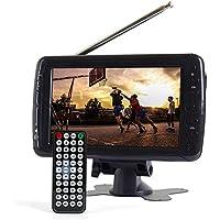 Tyler TTV701 7 Portable Widescreen LCD TV with Detachable Antennas, USB/SD Card Slot, Built in Digital Tuner, and AV Inputs