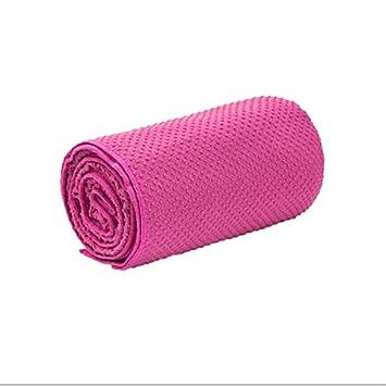 JESSIEKERVIN YY3 Absorción del Sudor Deporte Toalla Manta de Yoga Alfombra de Baile de Microfibra Productos de Gimnasio Antideslizantes para el Medio ...