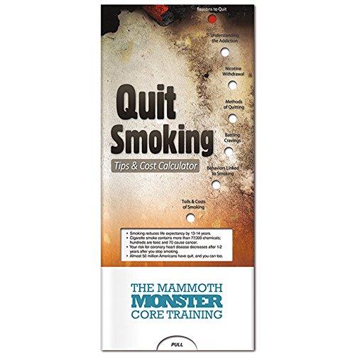 BIC Graphic Pocket Slider: Stop Smoking White 500 Pack