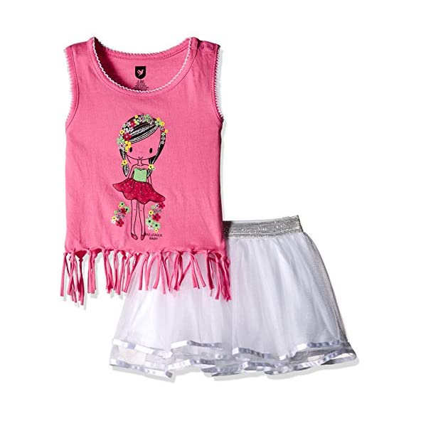 612 League Baby Girls' Clothing Set