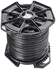 Available in lengths of 1000 ft. (304.8 m).24 AWG copper conductor pairs.26 AWG integrated ESD drain wire to prevent ESD attacks and damage.PE outdoor-rated, weatherproof -layered shielding. Cable color : Black