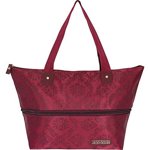 jacki-design-new-essential-expandable-tote-bag-burgundy