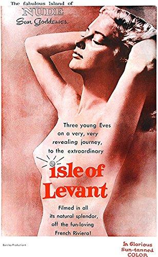 Isle Of Levant - 1956 - Movie Poster