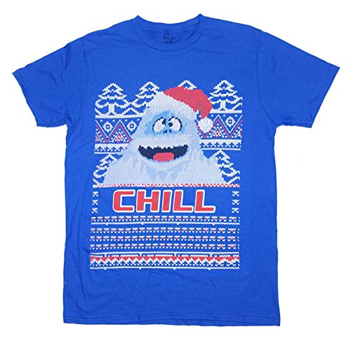 Men's Bumble The Abominable Snow Monster Rudolph The Red Nosed Reindeer Tee (Medium) (Snow Monster From Rudolph The Red Nosed Reindeer)