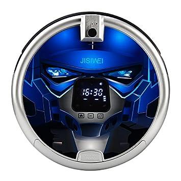 jisiwei inteligente Robot aspiradora S + WiFi de robot de limpieza y supervisión con Built-in de 1080p cámara y mando a distancia para bebés y mascotas ...