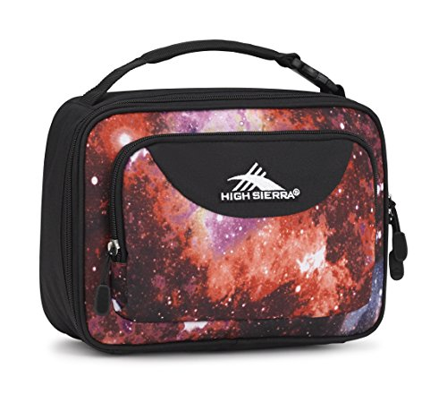(High Sierra Single Compartment Lunch Bag, Space Age/Black)