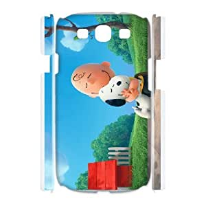 Anime Series Cartoon Design Snoopy Protective Case for Samsung Galaxy S3 Case 3D i8190 Case JS004